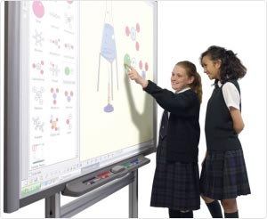 Smartboard, projector and audio installations for education and school customers